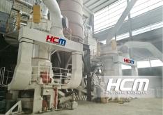 Molino Vertical HLMX 1100 para  procesamiento de polvo superfino del carbonato calcio